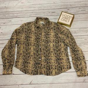 Allison Taylor women's blouse size XL